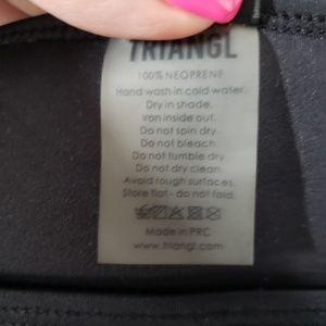 triangl swimwear Swim - Triangl neoprene bikini bottom cobalt/white